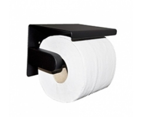 Brush toiletrolhouder mat-zwart