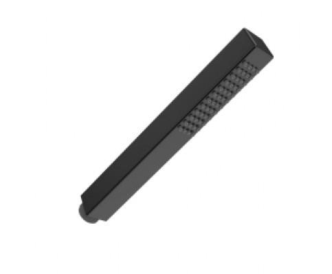 Wiesbaden mat-zwart messing handdouche vierkant 1/2''
