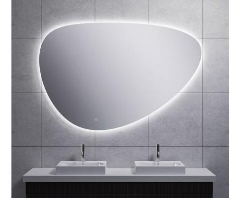 Uovo condensvrije led- spiegel dimbaar 150 cm