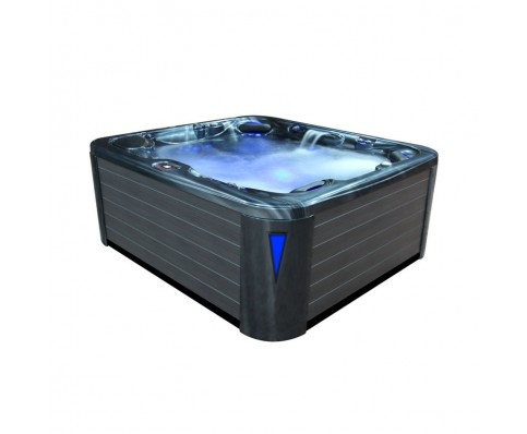 AWT SPA IN-590 premium extreme CloudyBlack 250x228 cm. grijs