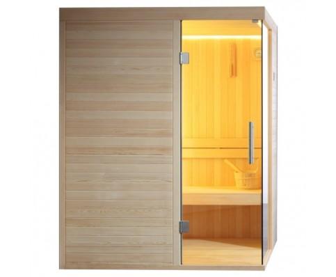 AWT Sauna E1804A pijnboomhout 180x120 cm. zonder oven