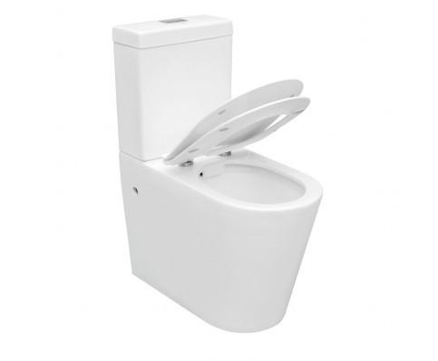 Duoblok X comfort Luxe verhoogd toilet compleet