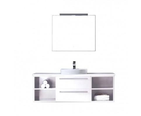 Badkamermeubel EAGO Neapel NA-1400 wit met wit blad