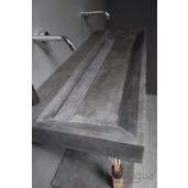 Wastafel Bellezza 120 cm. hardsteen
