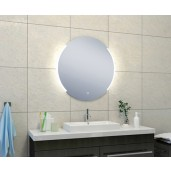 Wiesbaden Round dimbare LED condensvrije spiegel rond 800