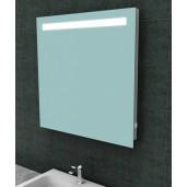 Tigris spiegel met LED verlichting en stopcontact 800x800 mm.