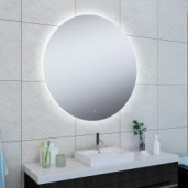 Wiesbaden Soul spiegel met LED rond 1000 mm