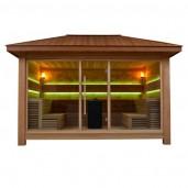 AWT Sauna LT1400C red cedar 350x350 10.8kW Vitra