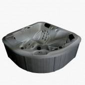 AWT SPA IN-106 Oyster Opal 180x180 cm. grijs