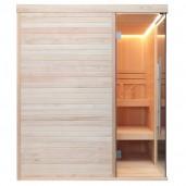 AWT Sauna E1805 pijnboomhout 180x180 cm. zonder oven