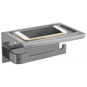 BD Phone-Toiletrolhouder geborsteld RVS (zonder telefoon)