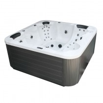 AWT IN-104 buitenspa Extreme Isolatie Sterling Silver 230x230 cm. grijs