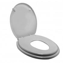 Wiesbaden Family 2.0 Soft-Close dubbele toiletzitting PP wit
