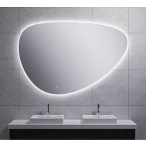 Uovo condensvrije LED-spiegel dimbaar 60 cm