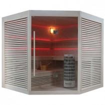 EO-SPA Sauna E1403B 200x200 zonder kachel