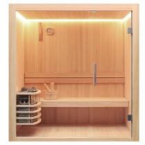 AWT Sauna E1803B pijnboomhout 150x120 cm. zonder oven