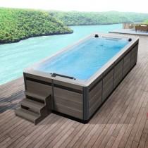 AWT Swim-SPA Innovation 550-T 550x230 cm. grijs