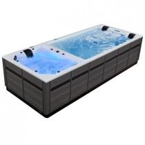 AWT Swim-SPA Innovation Dual 590 590x235 cm. grijs