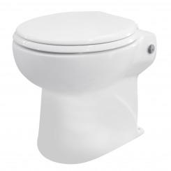 Staand toilet met ingebouwde vermaler (broyeur)