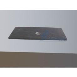 Meubelblad natuursteen 100 cm