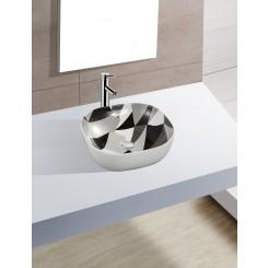 Picasso opbouw waskom 410x410x145 mm.
