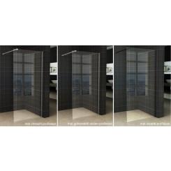 Wiesbaden Slim glasplaat helder 800x2000 mm. 8 mm. nano