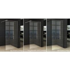 Wiesbaden Slim glasplaat helder 850x2000 mm. 8 mm. NANO