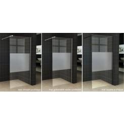 Wiesbaden Slim glasplaat gedeeltelijk matglas 1100x2000 mm. 8 mm. NANO