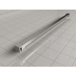 Wiesbaden Slim stabilisatiestang 120 cm chroom