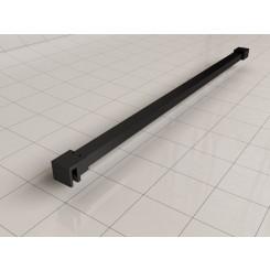 Wiesbaden Slim stabilisatiestang 120 cm matzwart