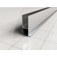 Wiesbaden aluminium verbredingsprofiel 3 cm x 202 cm