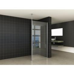 Wiesbaden set verticale stabilisatiestang en plafond bevestiging chroom
