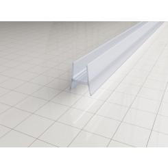 Kunststof bodemstrip tbv inloopdouche 10 mm. L=650