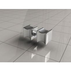 Wiesbaden losse deurknop type 5 chroom