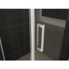 Losse deurgreep nieuw model 20,5 cm chroom