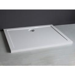 Luxe lage douchebak SMC rechthoek 1200x900x4 wit