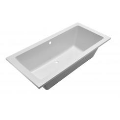 Santino SQ inbouw ligbad 190*90*49 cm wit DUO
