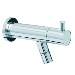"Amador KIWA Toiletkraan muurbevestiging 1/2"" chroom"