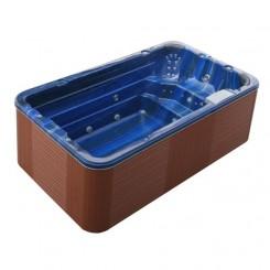 AWT zwemspa Innovation 4.0 Summer Saphire 400x230 cm. bruin