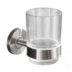 glashouder met glas RVS