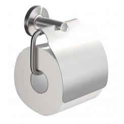 toiletrolhouder + klep RVS