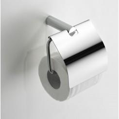 Ida toiletrolhouder met klep chroom