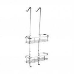 Wiesbaden Style chroom ophangrek tbv glazen wand 80 cm