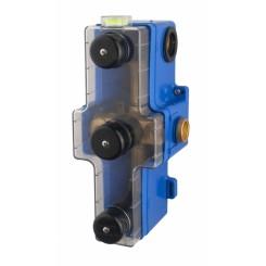 inbouwdeel met box 3-wegs douchethermostaat