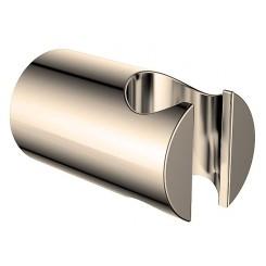 Luxe vaste handdouchehouder mess.geb.staal