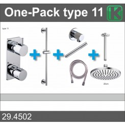One-Pack inbouwthermostaatset type 11 (20cm)