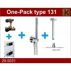 Wiesbaden one-pack inbouwthermost.set type 131 (20cm ufo)