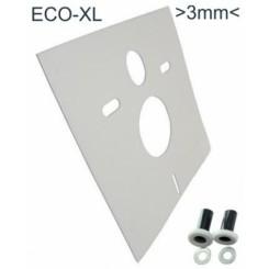 Eco-XL wandcloset isolatie-set dikte 3mm
