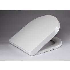 DeeLine toiletzitting met deksel one-touch wit