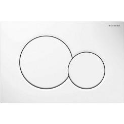 Geberit Sigma 01 drukplaat wit